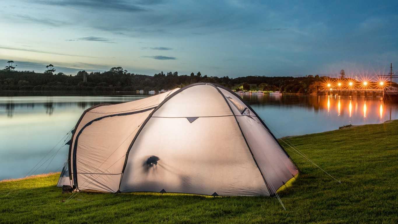 Waitangi River at Night ... a great camping spot