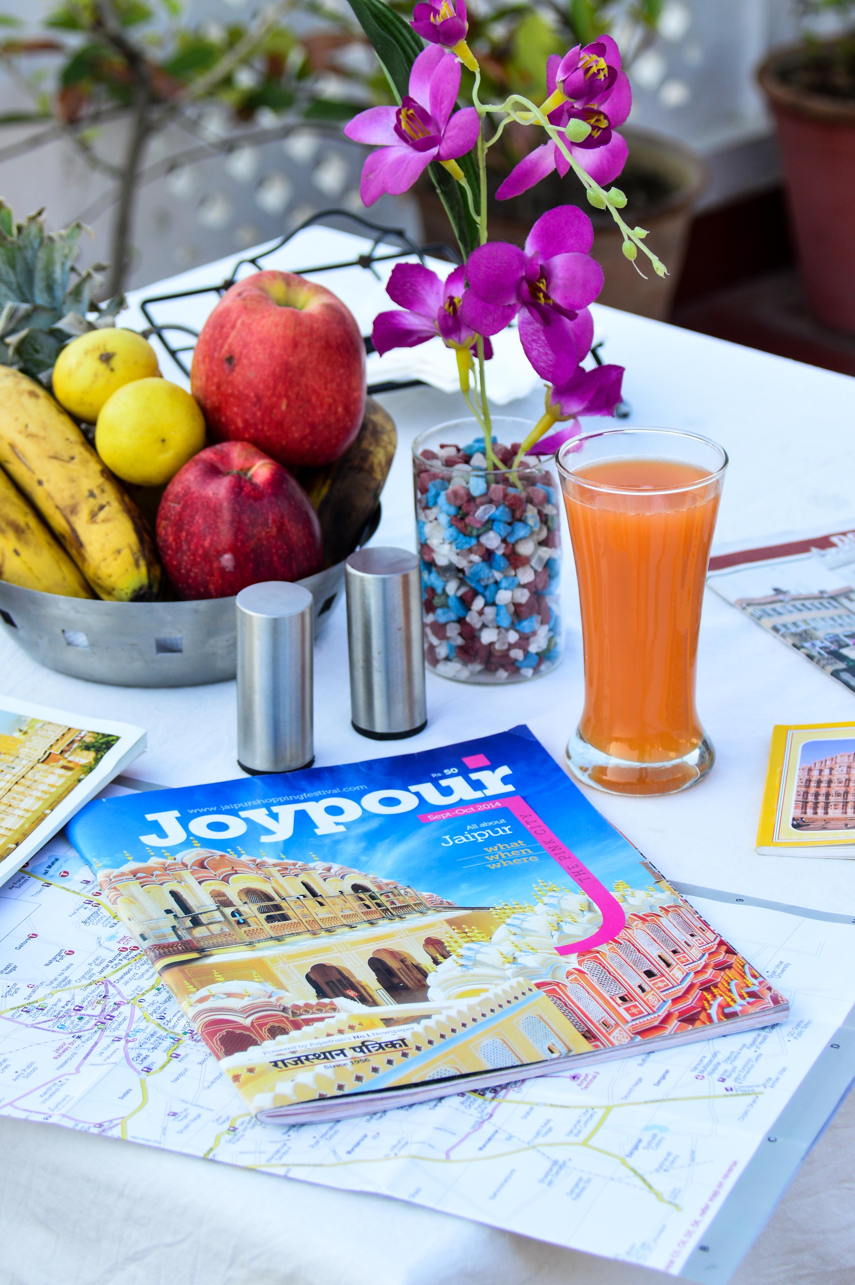 breakfast for explorers