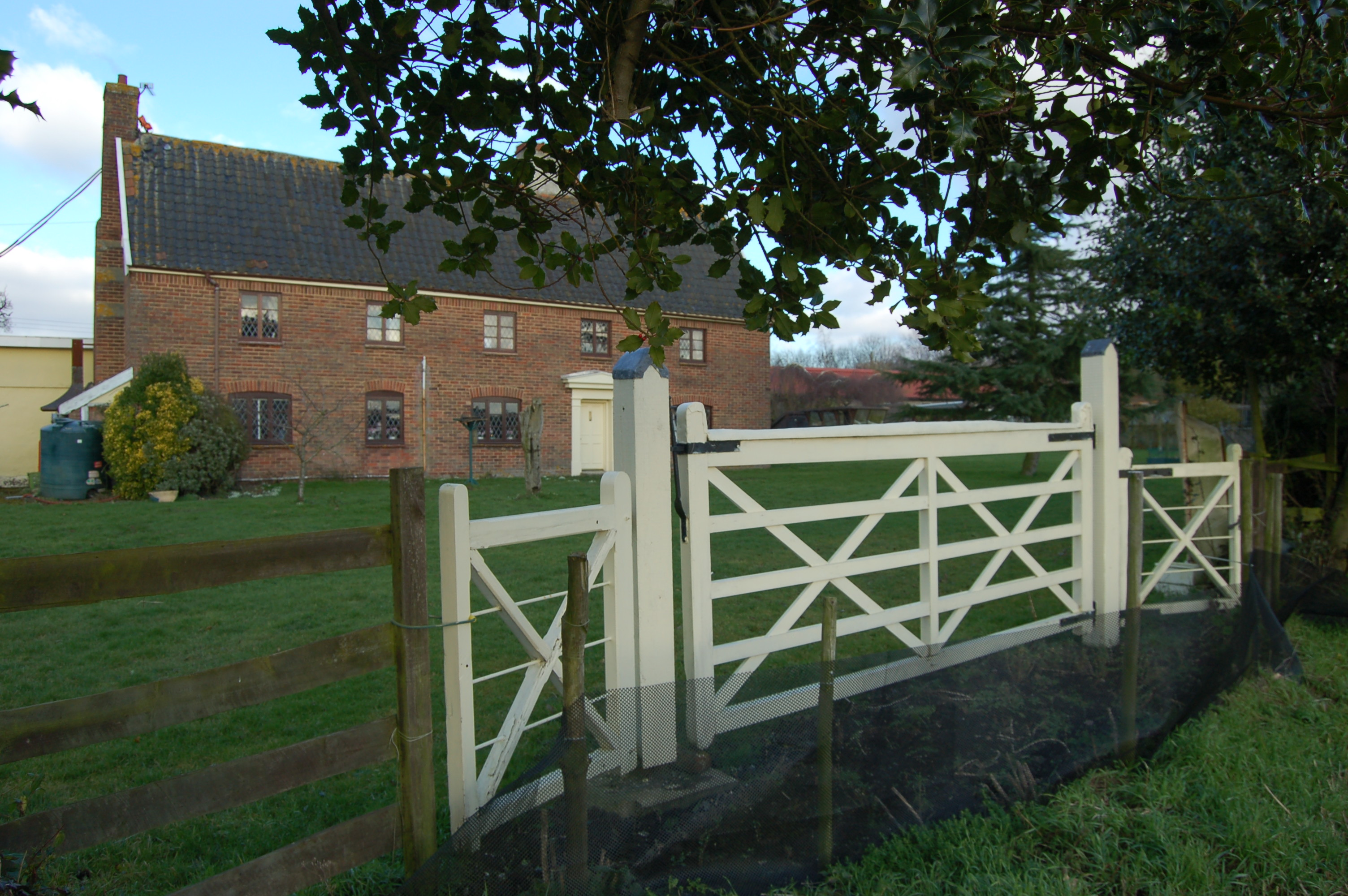 view over the gate