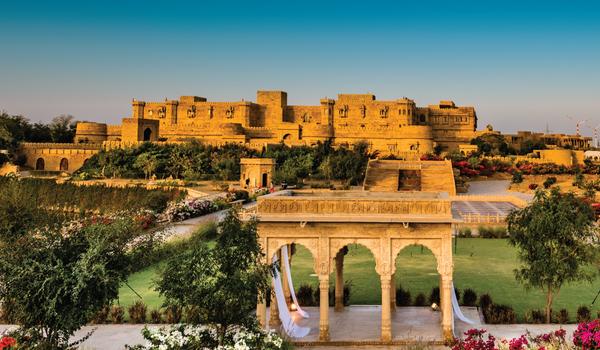 Suryagarh Jaisalmer Booking Engine