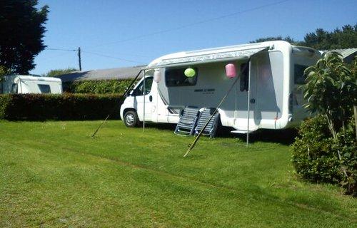 Caravan/camper hook up pitch