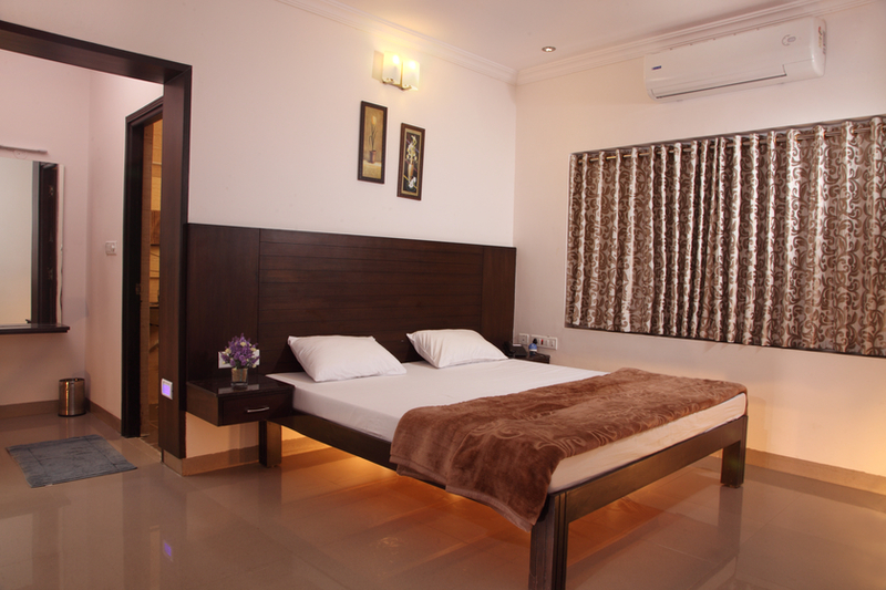 double bed