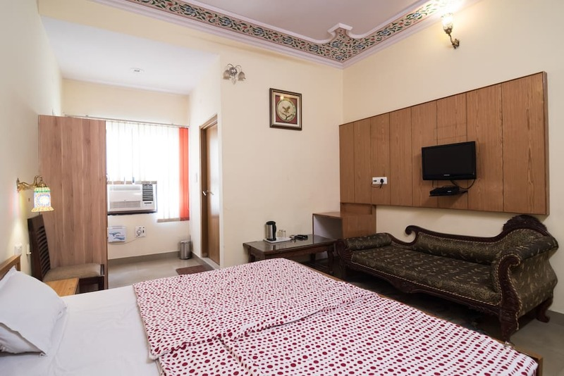 Room view with king size bed