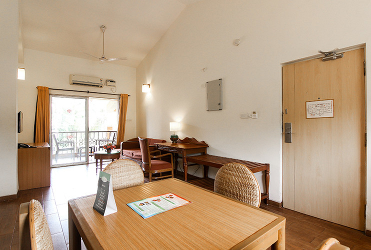 Suite 2 BHK Dining and Living room