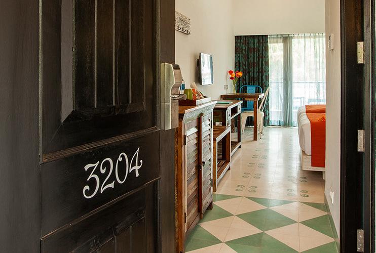 Premier Twin Room Entrance