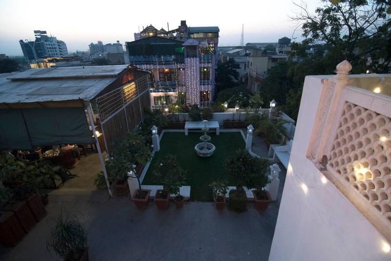 Aerial Garden view