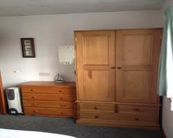 2 person lodge - twin beds - Dog friendly