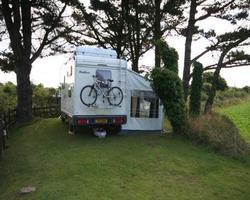 Caravan hook up pitch. (pitch 1)